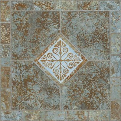 Armstrong Afton - Dry Back Slate Mosaic Verde 54465