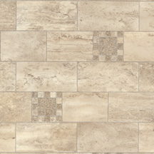 Armstrong Designer Solarian - Stone Mosaic Toasted Almond 35011