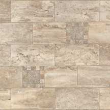 Armstrong Designer Solarian - Stone Mosaic Taupe Blush 35012