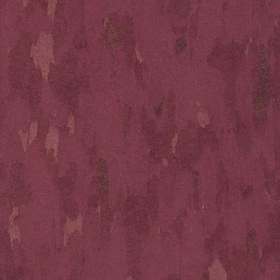 Azrock VCT Standard Premium Vinyl Composition Tile Berry Red V276