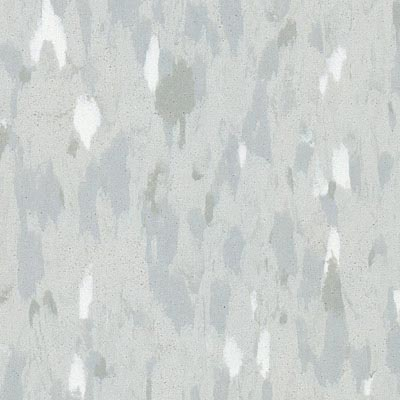 Azrock VCT Standard Premium Vinyl Composition Tile Powder Grey V208