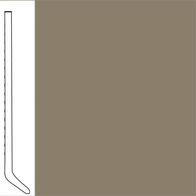 Flexco Wall Base Cove 2 1/2 - 2.03mm Driftwood
