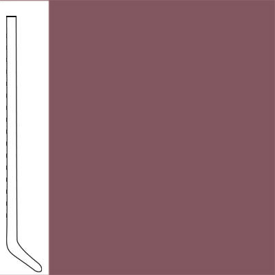 Flexco Wall Base Cove 2 1/2 - 2.03mm Plum Pudding