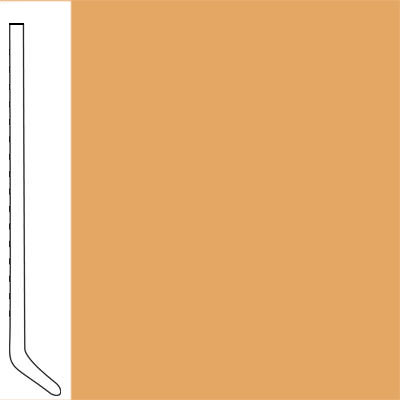 Flexco Wall Base Cove 2 1/2 - 2.03mm Sunflower