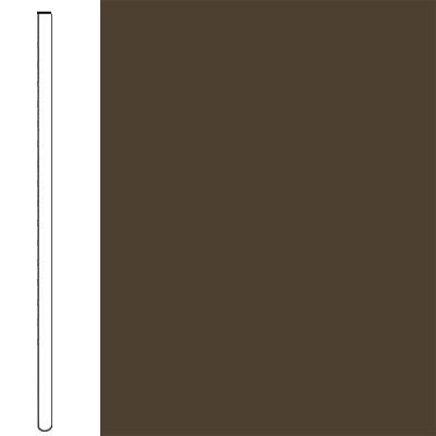 Flexco Wall Base Straight 2 1/2 - 2.03mm Chocolate