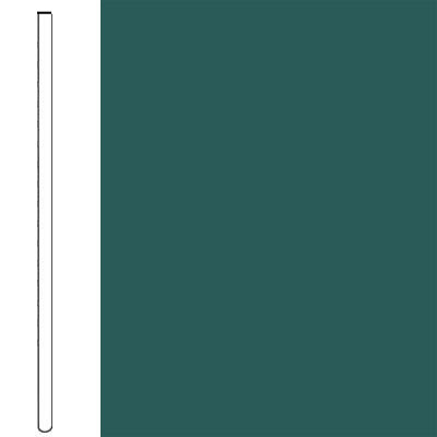 Flexco Wall Base Straight 2 1/2 - 2.03mm Polo Green