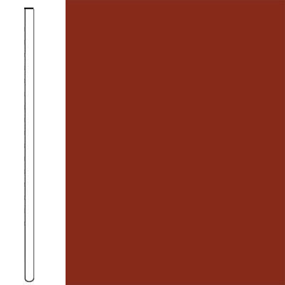 Flexco Wall Base Straight 2 1/2 - 2.03mm Red Rock