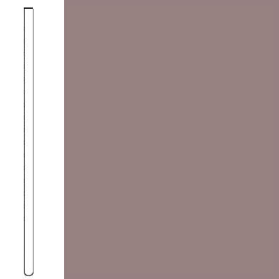 Flexco Wall Base Straight 2 1/2 - 2.03mm Taupe