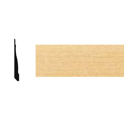 Johnsonite Millwork Wall Art Silhouette Natural Maple