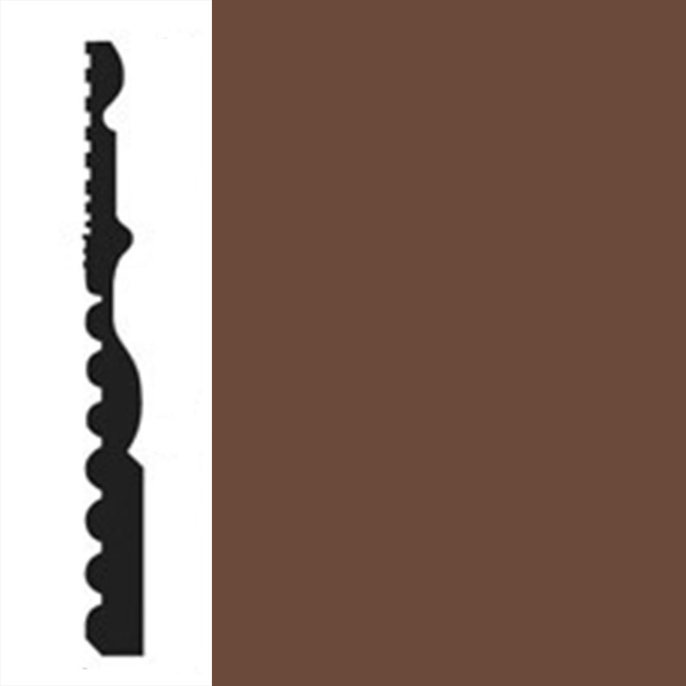 Johnsonite Millwork Diplomat Milk Chocolate