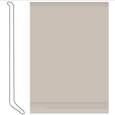 Johnsonite Traditional Vinyl Wall Base With Toe 1 8 2 1 2