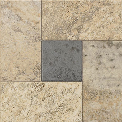 Mannington Adura Elements - 6 x 6 Accent Tiles Deco Stone Breakwater AEA200