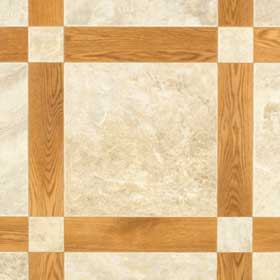 Mannington Ceramica - Oakcrest 12 Honey and Sandstone 96181