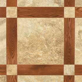 Mannington Ceramica - Oakcrest 12 Spice and Sunstone 96183