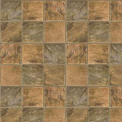 Mannington Realistique - Highland Slate 6 Green With Brown 97072