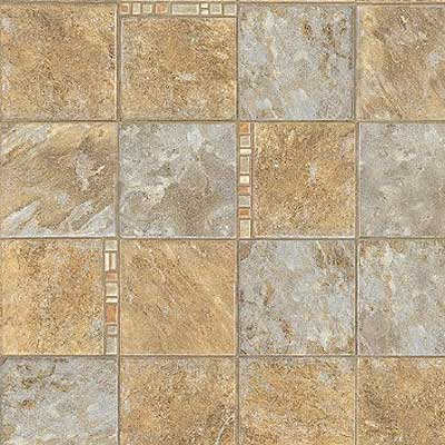 Mannington Realistique - Nevada Quartz 12 Blue Quartz With Coral Stone 97044