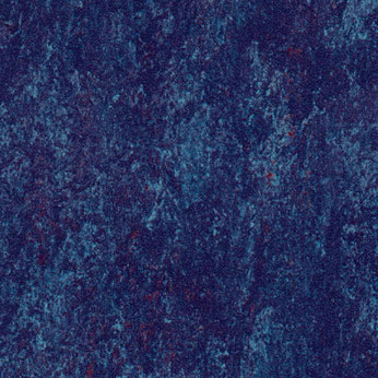 Forbo Marmoleum Tile Rhythmic Blues (Phased Out) Midnight Blue 844