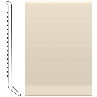 Roppe 2.5 Inch 0.080 Vinyl Cove Base Bisque 131