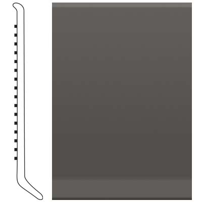 Roppe 2.5 Inch 0.080 Vinyl Cove Base Burnt Umber 194