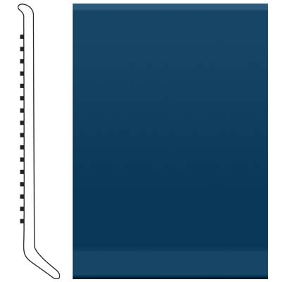 Roppe 2.5 Inch 0.080 Vinyl Cove Base Deep Navy 139