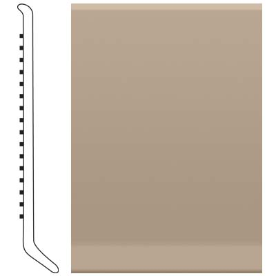 Roppe 4 Inch 1/8 Vinyl Cove Base Sand Stone 171