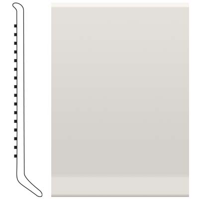 Roppe 2.5 Inch 0.080 Vinyl Cove Base White 170