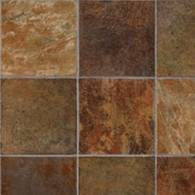 Tarkett Fiberfloor Lifetime Alamo Stone Dark Rust 38093