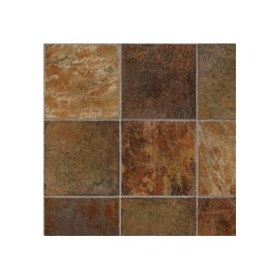 Tarkett Fiber Floors Lifetime - Alamo Stone Dark Rust 38093