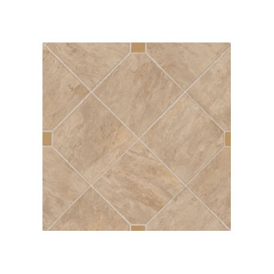 Tarkett Fiber Floors Lifetime - Montana Tile Tan 38102