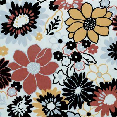 Tarkett Fiber Floors Personal Expressions - Flower Power Disco Dalhias 23401