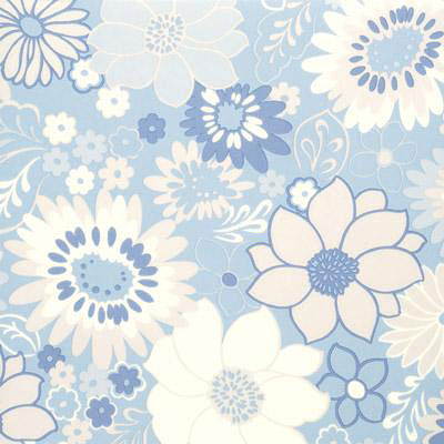 Tarkett Fiber Floors Personal Expressions - Flower Power Retro Dalhias 23402