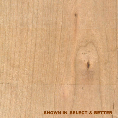 Stepco Cherry 2-1/4 Plain Sawn (Dropped) Cherry - Select