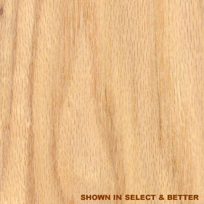 Stepco Red Oak 6 Unfinished Red Oak - Clear