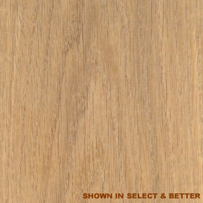 Stepco White Oak 4 Unfinished White Oak - Clear