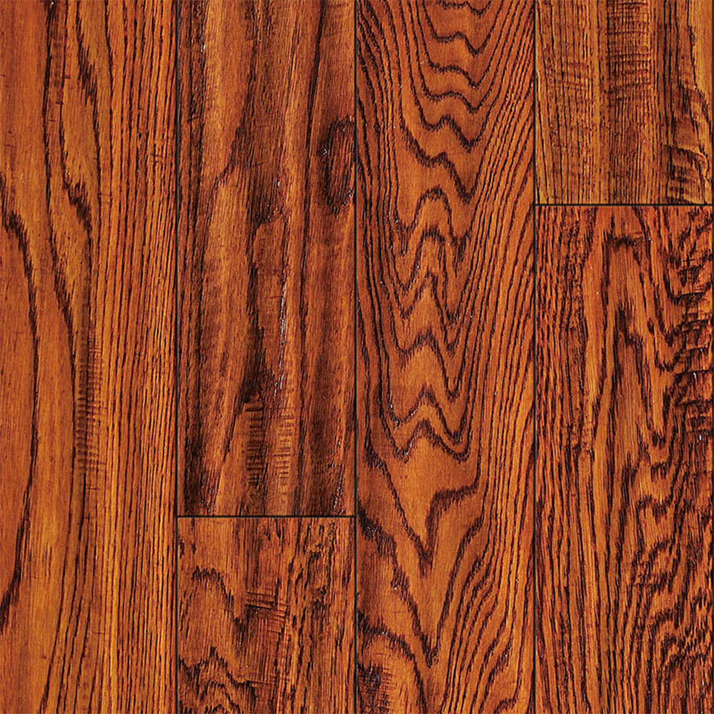 Ark Floors Artistic Distressed Solid 4 3/4 Oak Antique ARK-D02S01A16