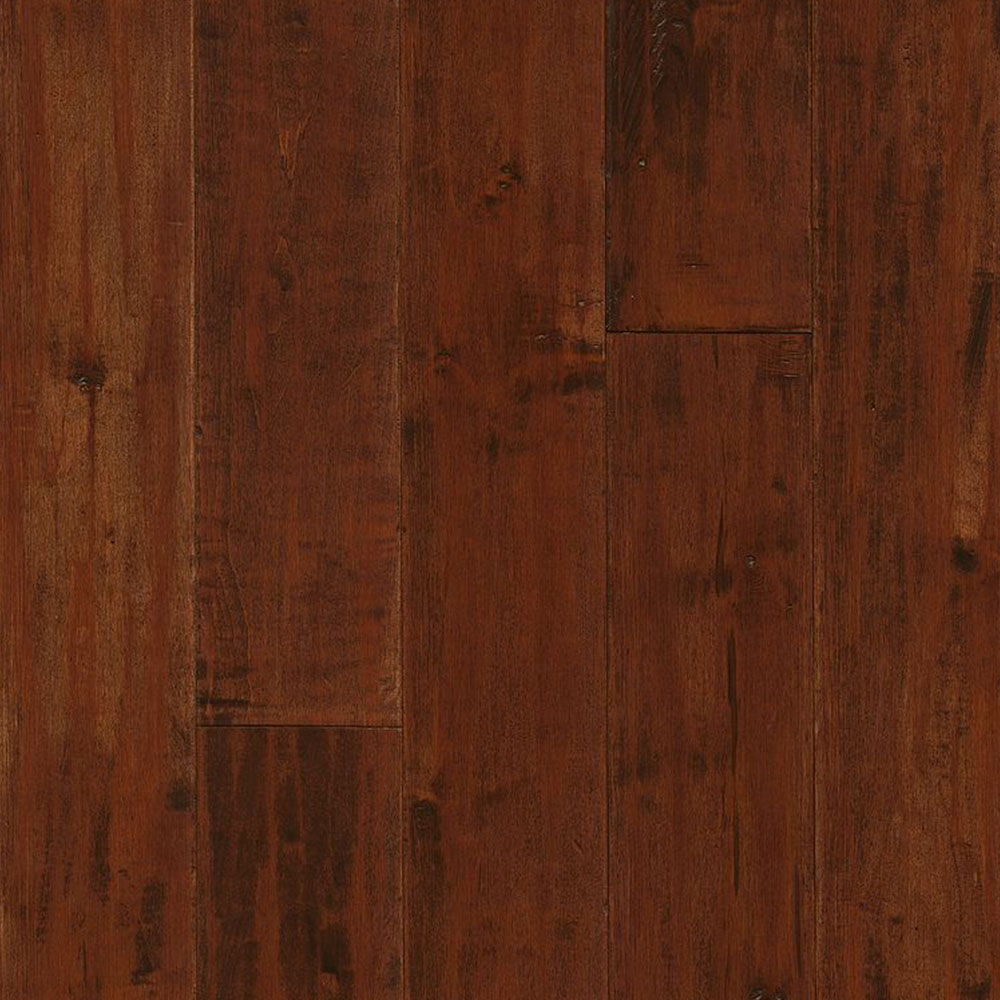 Armstrong American Scrape Solid Maple 5 Cranberry Woods