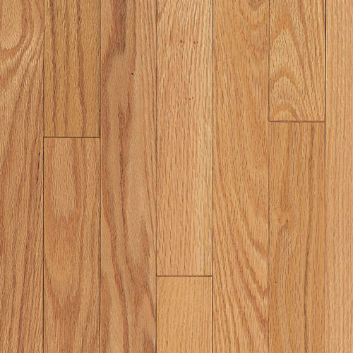 Armstrong Ascot Strip 2 1/4 Oak Natural