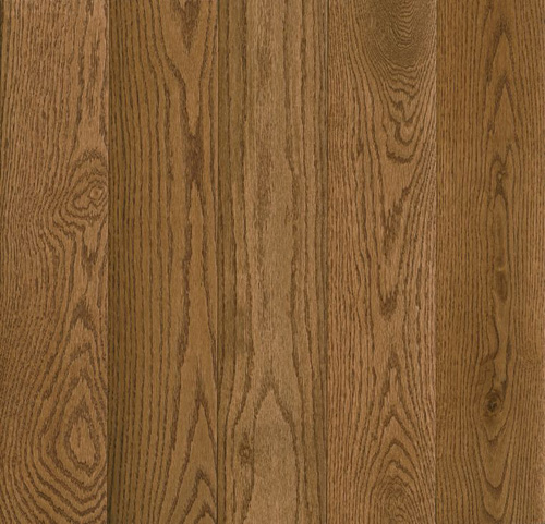 Armstrong Prime Harvest Solid Oak 2 1/4 Low Gloss Warm Caramel