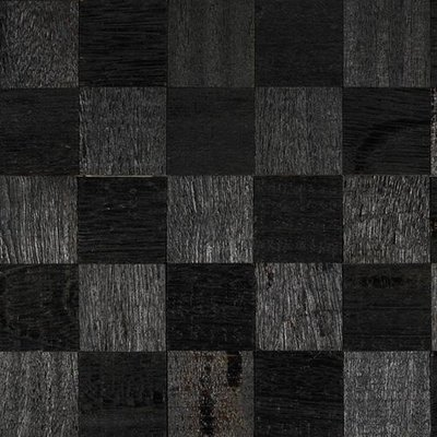 IndusParquet Coterie Sculptured Wall 2 5/8 x 2 5/8 - Ebony Ebony Angelim IPCCSWEA23/4