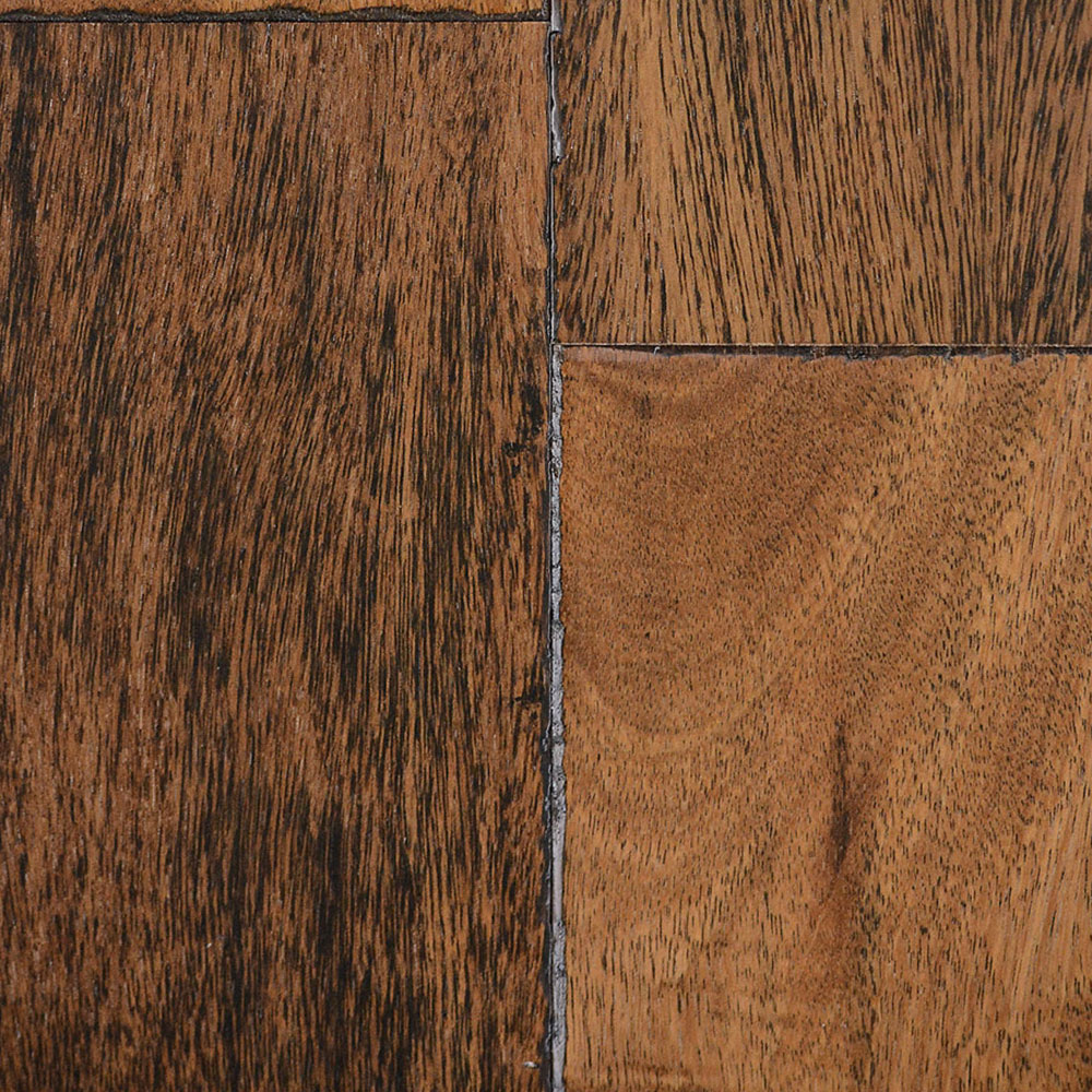IndusParquet Solid Exotic Hand Scraped 5 1/2 Brazilian Chestnut