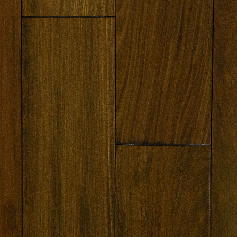 IndusParquet Solid Exotic Hand Scraped 5 1/2 Brazilian Walnut