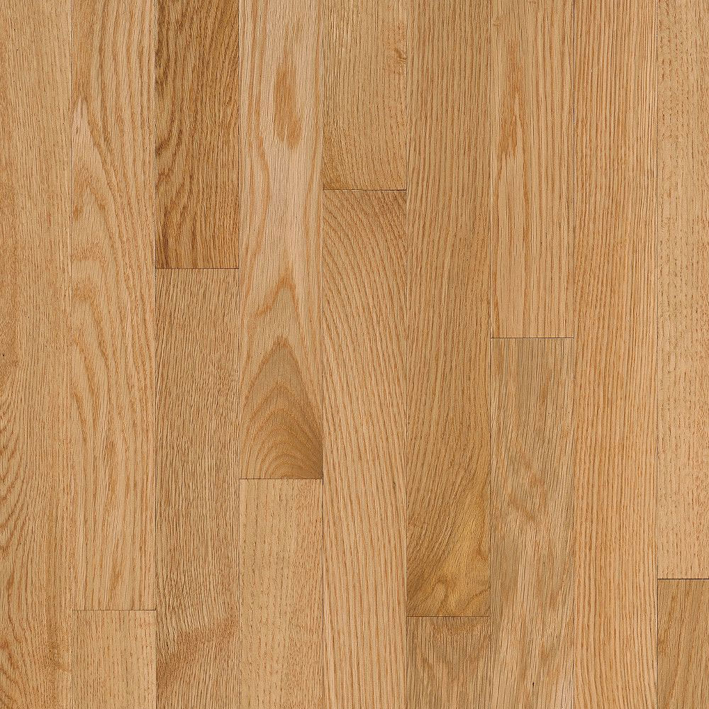 Bruce Natural Choice Strip Oak 2 1/4 - Low Gloss Natural C5010LG