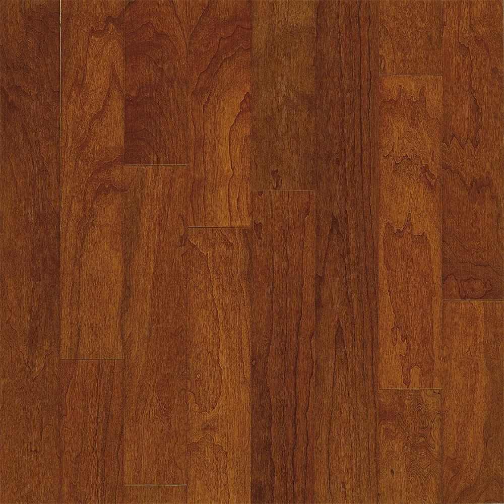Bruce turlington american exotics cherry 3 hardwood for Cherry wood flooring