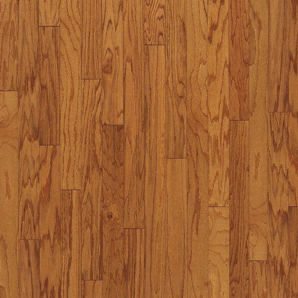 Bruce turlington lock fold oak 3 butterscotch for Bruce hardwood flooring
