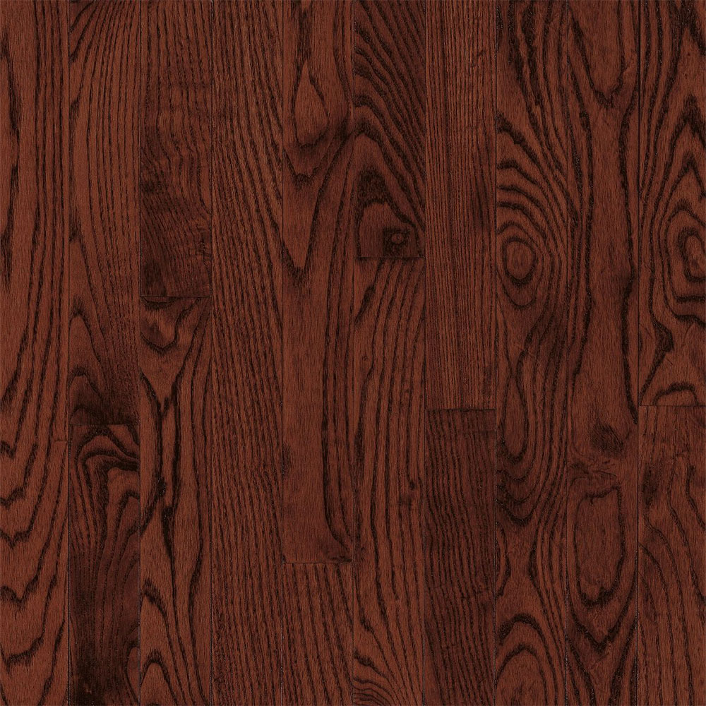 Bruce Westchester Solid Plank Oak Cherry