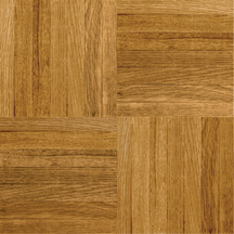 Armstrong Urethane Parquet Wood - Contractor/Builder Tawny Spice 152170