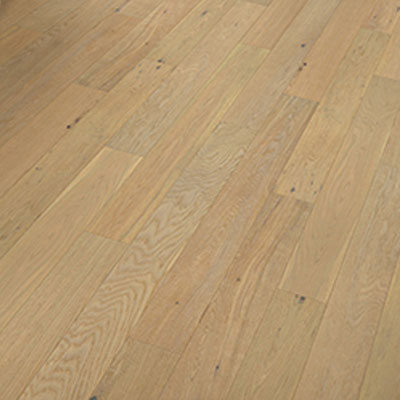 Kraus Flooring Natural Home 5 Inch Wide Bow Valley Oak Wire Brushed