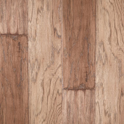 LM Flooring River Ranch Hand Scraped 5 Hickory Barley