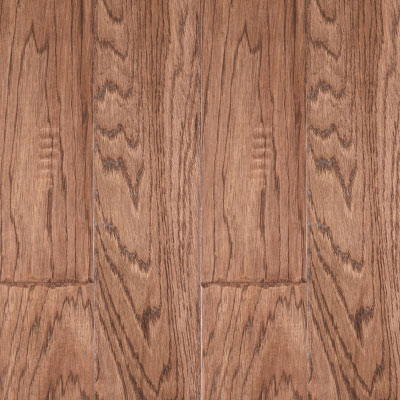 LM Flooring River Ranch Hand Scraped 5 Hickory Fireside