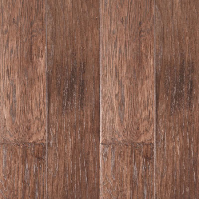 LM Flooring River Ranch Hand Scraped 5 Hickory Tobacco